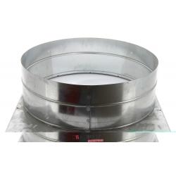 Plenum de soufflage ags/c 35 pour raccordement gaine circulaire diametre 450 mm