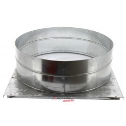 Plenum de soufflage ags/c 55 pour raccordement gaine circulaire diametre 560 mm