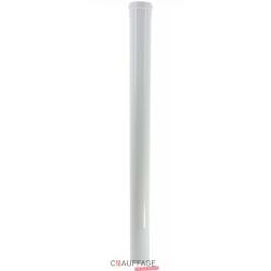 Rallonge etanche longueur 1 m pour ags-ags/c 45 - agv 45 diametre 100 mm pour kit b22