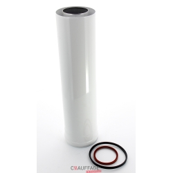 Rallonge concentrique longueur 1 m pour ags45-ags/c45 et agv45 2 tuyaux etanches diametre 100 pour