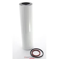 Rallonge concentrique longueur 1 m pour ags-ags/c-agv 55 a 95 2 tuyaux etanches diametre 130 pour
