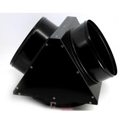Tete de soufflage 2 sorties diametre 300 mm pour ec85 permet le raccordement d'une ou 2 g