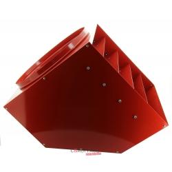 Tete de soufflage pivotante sur 360° pour sp70 / f70 avec ailettes horizontales directio