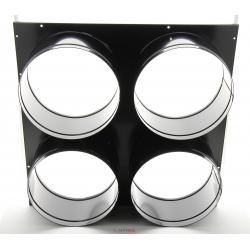 Tete de soufflage 4 sorties diametre 300 mm pour jumbo 220 ou 200 - permet de raccorder 1 a 4