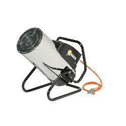 Chauffage air pulse gaz propane puissance reglable 19.8 a 52.3 kw