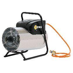 Chauffage air pulse gaz propane puissance reglable 13.9 a 30.2 kw
