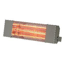 Chauffage infrarouge halogene a quartz puissance 1500 w carrosserie acier inoxydable brosse