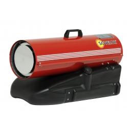 Chauffage direct air pulse portable au fuel puissance 21.4 kw