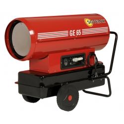 Chauffage direct air pulse mobile sur roues au fuel puissance 69,3 kw