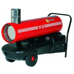 Chauffage indirect air pulse mobile sur roues au fuel puissance 23,4 kw