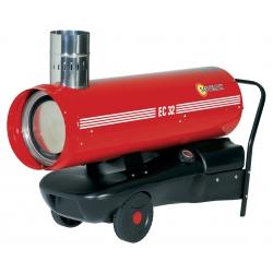 Chauffage indirect air pulse mobile sur roues au fuel puissance 34,1 kw