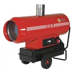 Chauffage indirect air pulse mobile sur roues au fuel puissance 58.6 kw