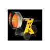 Chauffage direct radiant mobile sur roues avec bruleur fuel 1 allure