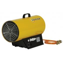 Chauffage air pulse gaz propane puissance reglable de 36 a 53 kw