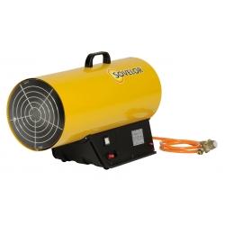 Chauffage air pulse gaz propane puissance reglable de 49 a 73 kw