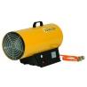 Chauffage air pulse gaz propane puissance reglable 49 a 73 kw