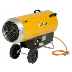 Chauffage direct air pulse mobile gaz propane 57 a 103 kw