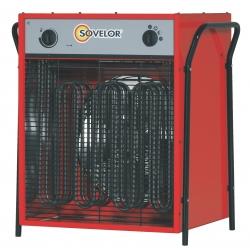 Chauffage air pulse portable electrique 380 v tri puissance reglable 11 ou 22 kw