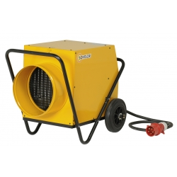 Chauffage air pulse mobile sur roues electrique 380 v gainable 18 kw