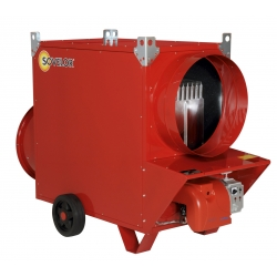 Chauffage mobile indirect air pulse sans bruleur 104,7 kw debit d'air 6000 m3/h - 230 v ~1 50 JUMBO105CSB