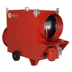 Chauffage mobile indirect air pulse sans bruleur 133,7 kw debit d'air 8000 m3/h - 230 v ~1 50 JUMBO135SB