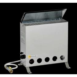 Convecteur thermostatique portable avec bruleur gaz butane puissance 4000 w