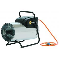 Chauffage air pulse gaz propane puissance reglable 15 a 30.2 kw manuel