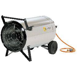 Chauffage direct air pulse mobile au gaz propane allumage automatique