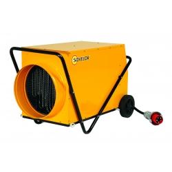 Chauffage air pulse mobile sur roues electrique 380 v gainable 30 kw