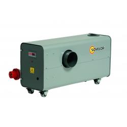 Chauffage air pulsé electrique mobile gainable tht 22.5 kw