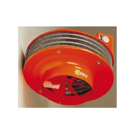 Aerodestratificateur air pulse a suspendre electrique 380 v tri + n