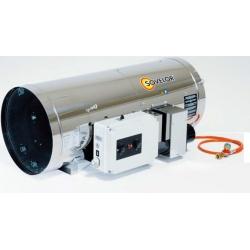 Chauffage direct air pulse suspendu bruleur propane 100.3 kw