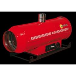 Chauffage indirect air pulse a suspendre avec bruleur fuel 85 kw
