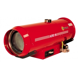 Chauffage indirect air pulse a suspendre avec bruleur gaz propane 100 kw