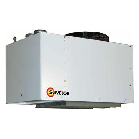 Aerodestratificateur avec bruleur gaz naturel 20 mbar 92 kw