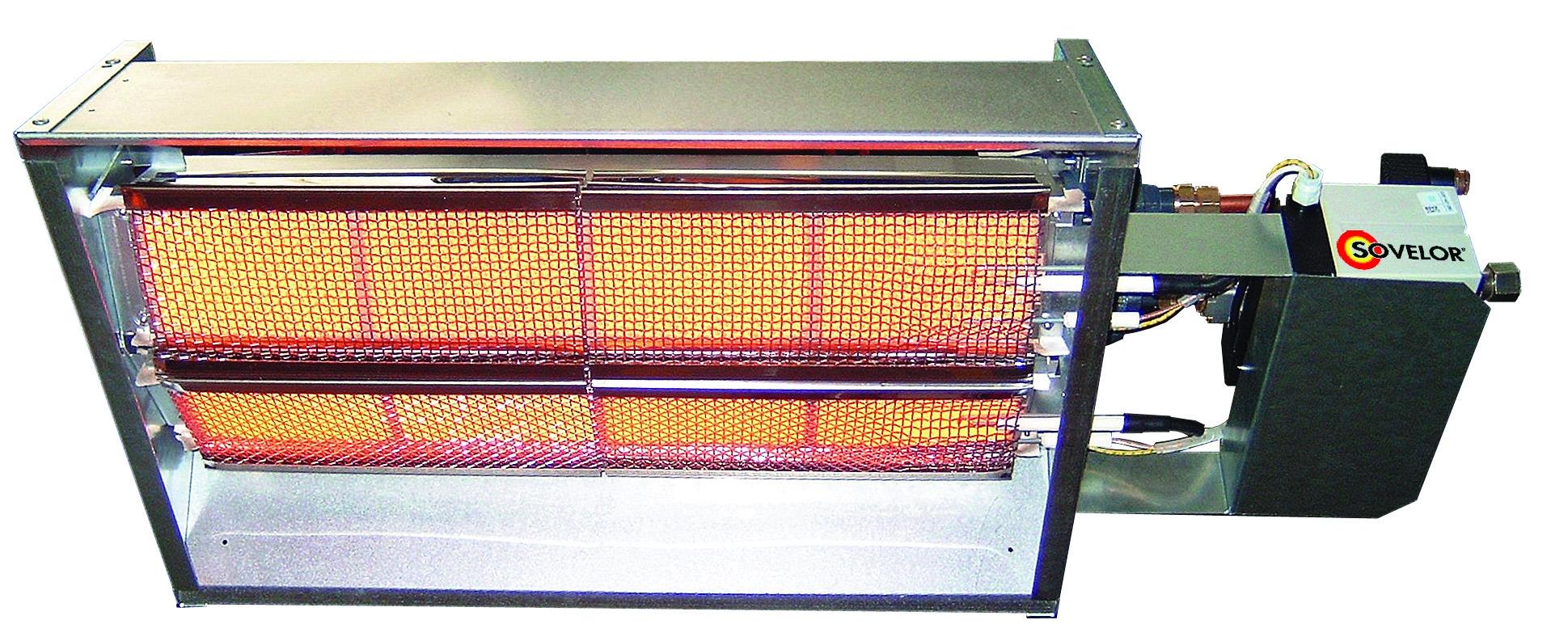 Chauffage sovelor rl14gp - Chauffage radiant gaz ...