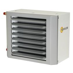 Aerotherme a eau suspendu puissance 59 kw (eau 90°c/ air 12°c)