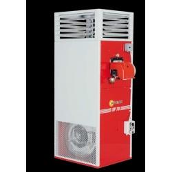 Chauffage fixe air pulse avec bruleur fuel puissance : 69,8, kw