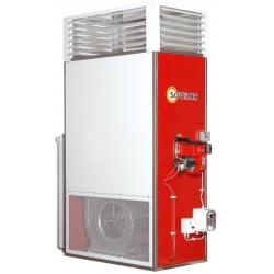 Chauffage fixe vertical air pulse avec bruleur fuel 115,11 kw F115