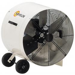 Ventilateur extracteur helicoide portable diametre 600 mm debit d'air 5000 m3/h V600