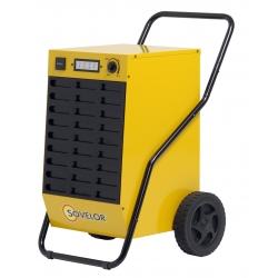 Deshumidificateur electrique professionnel mobile sur roues 52 l /jour DR52