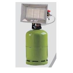 Radiant solor portable gaz butane avec allumeur piezo integre puissance reglable 6.3 kw Solor 6300CAB