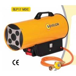 Chauffage air pulse gaz propane puissance 10 a 16 kw avec batterie