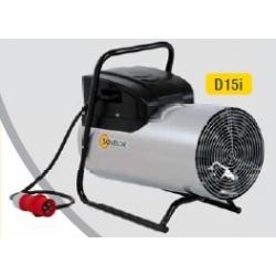Chauffage air pulse portable electrique 15 kw D15i