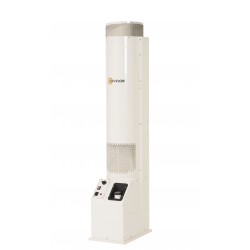Chauffage fixe vertical air pulse avec bruleur fuel 18.2 kw F18