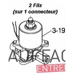 Pompe fuel val6 depuis 2001 type vsc-vsgx 63 raccordement par connecteur