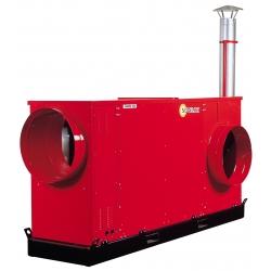 Chauffage mobile air pulse bruleur gaz naturel riello 300 mbar JUMBOEX135G300RH