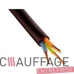 Cable electrique 3x1.50 mm² le mètre linéaire pour chauffage sovelor