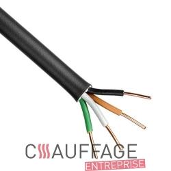 Cable electrique 4 g 2.5 mm² le mètre linéaire pour chauffage sovelor