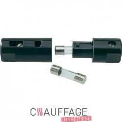 Porte fusible double pour chauffage sovelor ec/ge am 30057